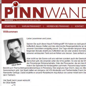 Pinnwand das Magazin für Pinneberg